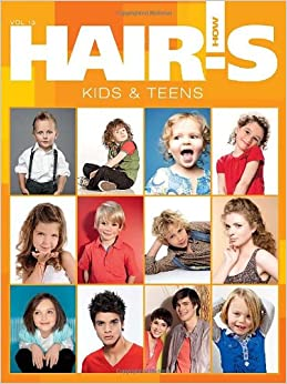 hairs h0w vol 13 kids and teens hairstyling book