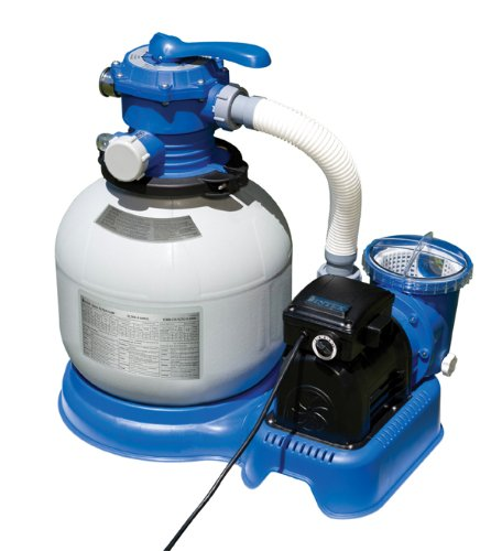 1600 gal hr Intex Krystal Clear Sand Filter Pump Toy