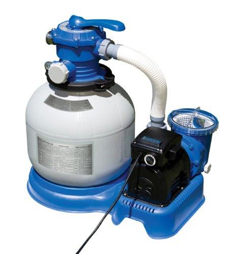 1600 gal/hr Intex Krystal Clear Sand Filter Pump [Toy]