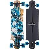 Landyachtz Longboard Complete Drop Hammer Blue Jay 2018 (Color: Blue Jay, Tamaño: Complete)