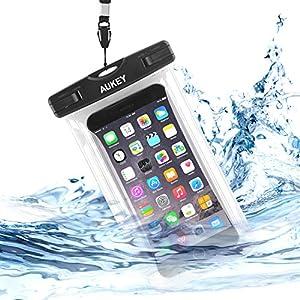Aukey スマホ用防水ケース iPhone 6 Plus/6/ Samsung Galaxy/Nexus/Sonyなど対応 PC-T5