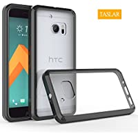 HTC 10 Case, HTC ONE 10 Case, HTC ONE M10, Taslar Crystal Clear Ultra Slim Anti Scratch Bumper Case With Clear...