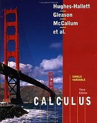 Calculus Single Variable by Hughes-Hallett Deborah Gleason