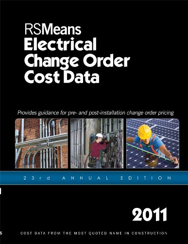 Rsmeans Electrical Change Order Cost Data 2011