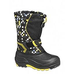Kamik Snowbank2 Boot (Toddler/Little Kid/Big Kid),Black,8 M US Toddler
