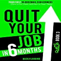 Quit Your Job in 6 Months: Book 3: Your First 10,000 Email Subscribers (How to Get Them, and How to Treat Them) Audiobook by Buck Flogging Narrated by Matt Stone