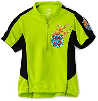 Kanu Bike Boy's Tiger Cycling Jersey