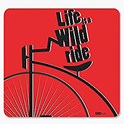 InstaNote Life is a Wild Ride Motivational Mousepad