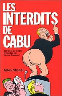 Les interdits de Cabu par Cabu