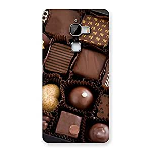 Ajay Enterprises choclets here Back Case Cover for LeTv Le Max