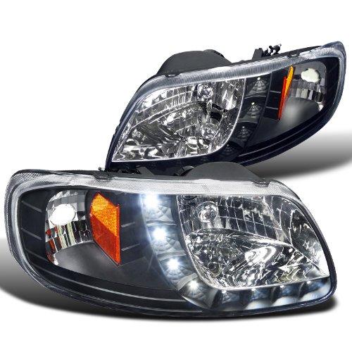 FOR 99-07 GMC SIERRA//YUKON LED DRL HEADLIGHTS//BUMPER LAMPS 00 01 02 03 04 05 06