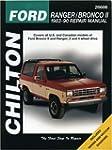 Ford: Ranger/Bronco II 1983-90