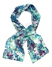 Classic Collection Pure Silk Lightweight Palma Jungle Scarf