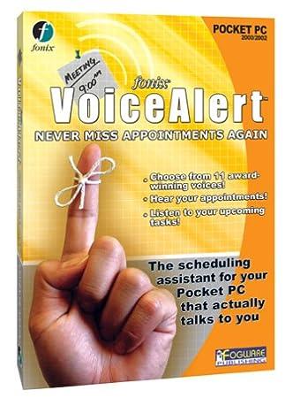 VoiceAlert for Pocket PC