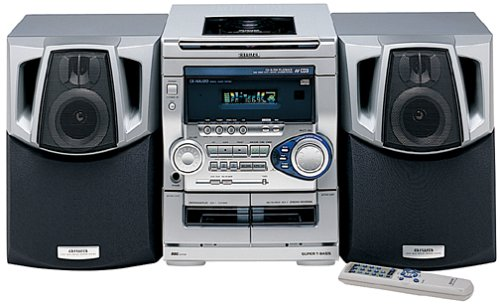 Aiwa NSX AJ20 Compact Stereo System Review