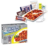 MRE Heater Meals 3 Case Pack (of 12 Meals), (6 Different Entries)