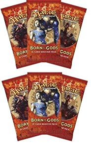 6 (Six) Packs of Magic: the Gathering - MTG: Born of the Gods Booster Pack Lot (6 Packs)
