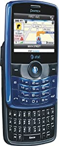 Pantech C790 Unlocked QWERTY Slider Phone - BLUE