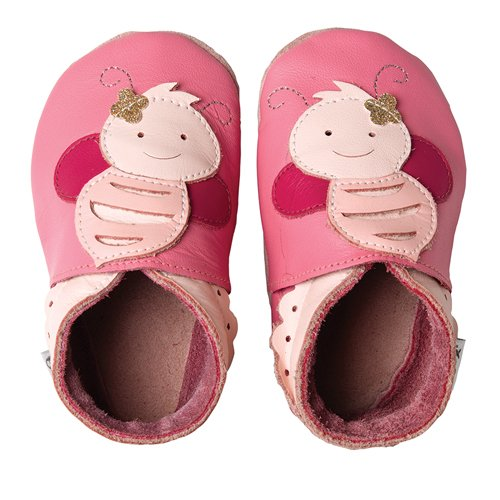 Bobux  460614,  Scarpe prima infanzia unisex bambino, Rosa (Pink (pink 43)), M