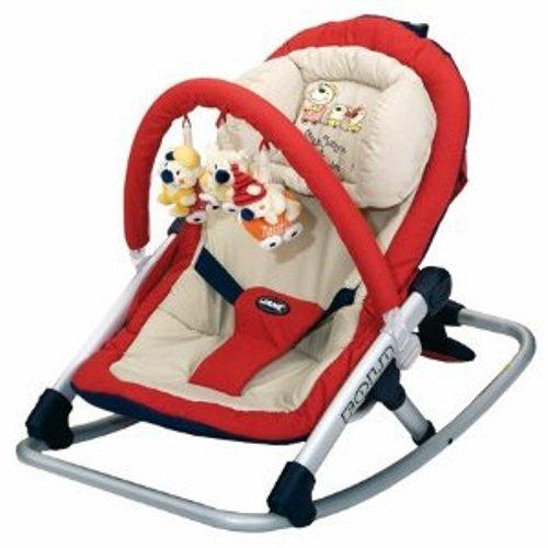 Transat Fold Mes Oursons - rouge Dès la naissance. Jusqu'à 9 kg.