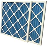 """US Home Filter SC40-10X24X1-6 MERV 8 Pleated Air Filter (Pack of 6), 10"""" x 24"""" x 1"""""""