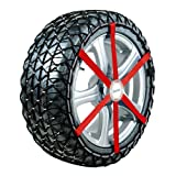18 Inch Michelin Easy Grip Composite Snow Chains for 4WD Cars with 235/60/18 Sized Tyres