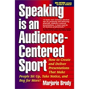 Speaking is an Audience-Centered Sport, Third Edition