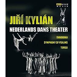 Jiri Kylian & The Nederlands Dans Theater - Svadebka - Symphony of Psalms - Torso [Blu-ray]