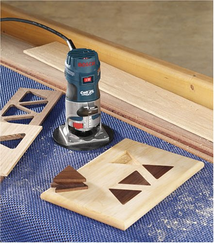 Bosch PR20EVSK Colt Palm Grip 5.6 Amp 1-Horsepower Fixed-Base Variable-Speed Router with Edge Guide