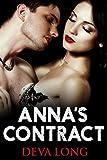 Annas Contract (Dark Erotic Romance) (The Alpha Boss Book 1)
