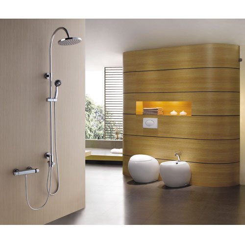 Regadera De Mano Para Baño:Regadera Para Baño Moderna Con Cabezal De Mano Bfn (Regaderas) a MXN