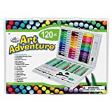 Royal Brush AVS-531 120 Piece Art Adventure Art Set, Multicolor