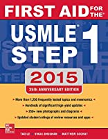 First Aid for the USMLE Step 1 2015 (First Aid USMLE) Front Cover
