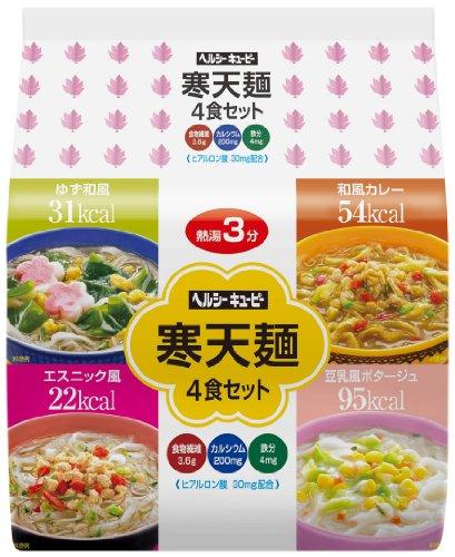 ヘルシーキユーピー 寒天麺 4食セット