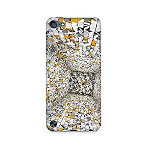 Mobicture Paper Space Premium Printed Case For Apple iPod Touch 5