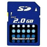 ハギワラシスコム SDメモリーカード Tシリーズ HPC-SD2GT-A
