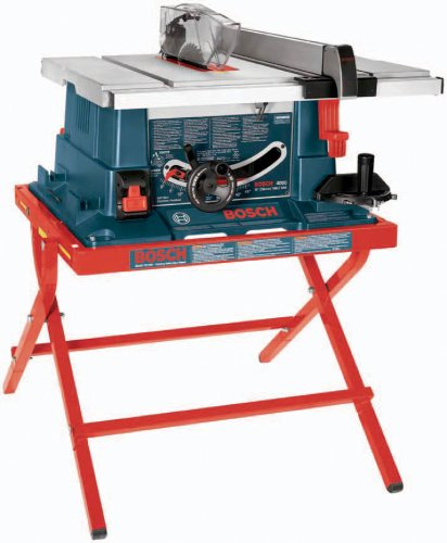 Bosch 4000-07 15 amp 10-inch Worksite Table Saw with Folding Stand