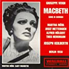 Verdi : Macbeth (Berlin 1950 (sung in German))