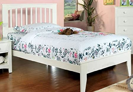 "WelcomeiHome .INC 45""H Pine Brook II White Finish Full Size Bed Frame at Sears.com"