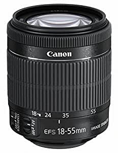 Canon 18 - 55 mm / F 3,5 - 5,6 IS STM EF-S Objectifs 18 mm