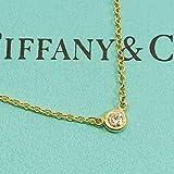 (ティファニー) TIFFANY ネックレス TIFFANY バイザヤード ダイヤ0.05 YG 10769213 [並行輸入品]