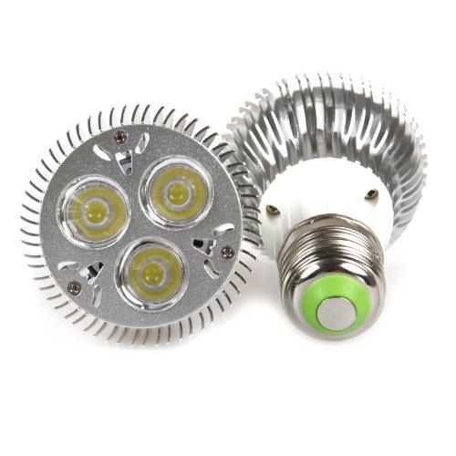 Lemonbest® 9W Dimmable Par20 Led Light Bulb Spotlight E27 Base Cool White 6000K (2 Pack)