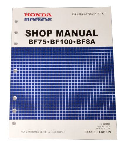 Bf75d bf90d model marine outboard motor shop manual | honda power.