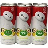 Coco Joy Banana Coconut Water White Baymax Red Background, 8.4 Ounce (Pack of 6)