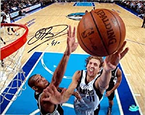Dirk Nowitzki autographed 8x10 Photo (Dallas Mavericks) Image #SC4 by Autograph Warehouse