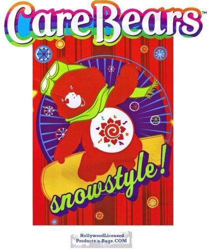 Care Bears Twin Plush Blanket (Snow Amigos) (Amigo Bear compare prices)