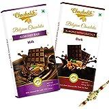 Rakhi Gift For Brother - Tasty & Incredible Chocolate Bars With Rakhi