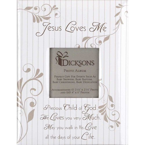 Jesus Loves Me Baby Photo Album