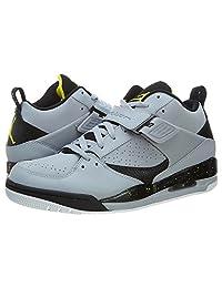 Jordan Mens Flight 45 Wolf Grey/Black-White 644846-017 13