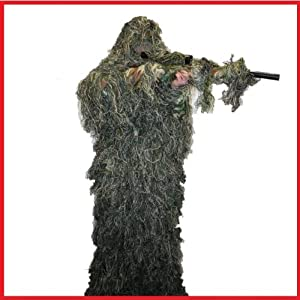 Militarystar Adults Ghillie Suit Woodland Camocamouflage Tree 3d Hunting Xlxxl from Military Star